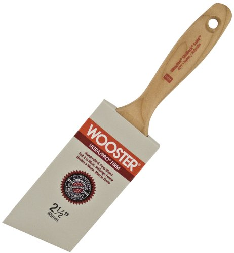 Wooster Brush 4177-2 1/2 Ultra/Pro Firm Lindbeck Sable Angle Paintbrush, 2.5-Inch