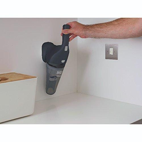 Black+Decker HNV220BCZ01FF Compact Lithium Hand Vacuum 2Ah Kit - Tech Gray - Cordless