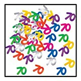 Fanci-Fetti 70 Silhouettes (multi-color) Party Accessory  (1 count) (.5 Oz/Pkg)
