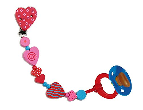 Hearts Pacifier Chain