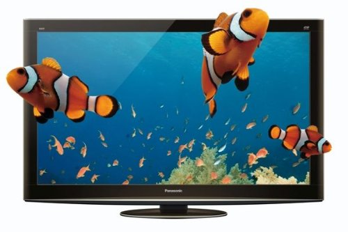 Panasonic TX-P50VT20B Viera 50-inch Widescreen 3D Full HD Plasma TV with Freeview HD and Freesat HD (Installation Recommended)