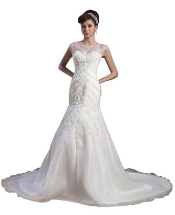 Herafa Wedding Dress Elegant NOw35607 At Amazon Womens Clothing Store