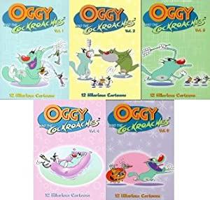 Oggy and the Cockroaches Toys