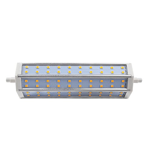20Pcs R7S 60Smd 2835Led Floodlight Replacement Lamp - Warm White - 12W 1080Lm 85-265V Ac