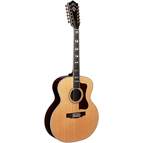 Guild F-512 Acoustic-Electric Guitar With Dtar Multi-Source Pickup System Natural