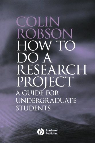 How to do a Research Project: A Guide for Undergraduate...