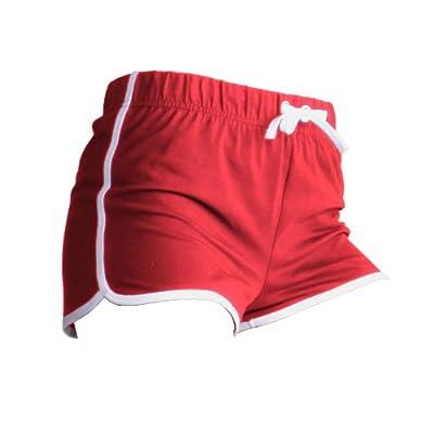 Skinni Fit Womens/Ladies Retro Training / Fitness Sports Shorts