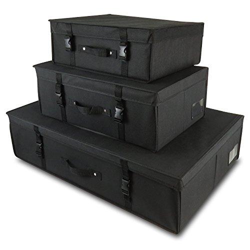 3-schwarze-Aufbewahrungsboxen-fr-Kleider-Lagerung-Reisen-ph-Neutral-Hangerworld