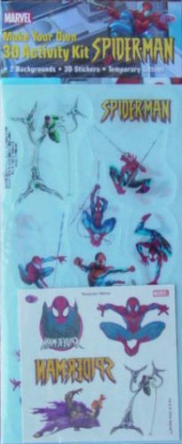 Make Your Own Spider-Man 3D Activity Kit
