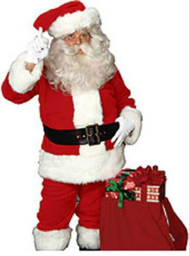 Imperial Santa Suit Adult Mens Christmas Costume