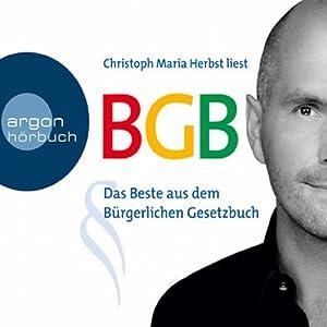 BGB - Das Beste aus dem Bürgerlichen Gesetzbuch Hörbuch