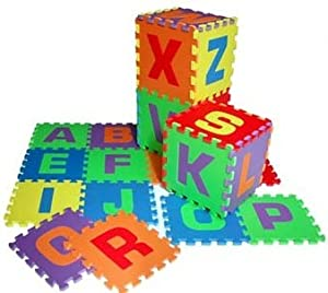 Alphabet 12 Inch Puzzle Mats for Children