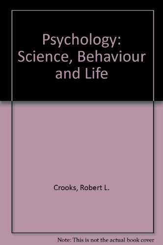 Psychology: Science, Behaviour and Life