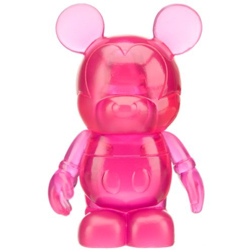 Buy Low Price Disney Magenta – Disney Vinylmation 3″ Clear Series #1 Collectible Figure (Disney Theme Parks Exclusive) (B002YAZBJ4)