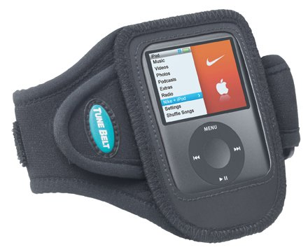 Armband for 3rd generation iPod nano when connected to Nike + iPod Sport Kit receiver