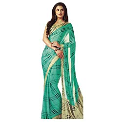 radhika satin saree with unstiched blouse rs_18019_green
