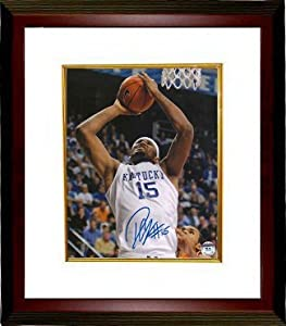 Demarcus Cousins signed Kentucky Wildcats 8x10 Photo Custom Framed by Athlon+Sports+Collectibles