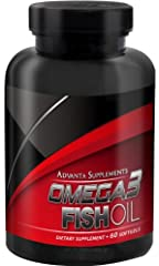 Advanta Supplements Omega3 Fish Oil