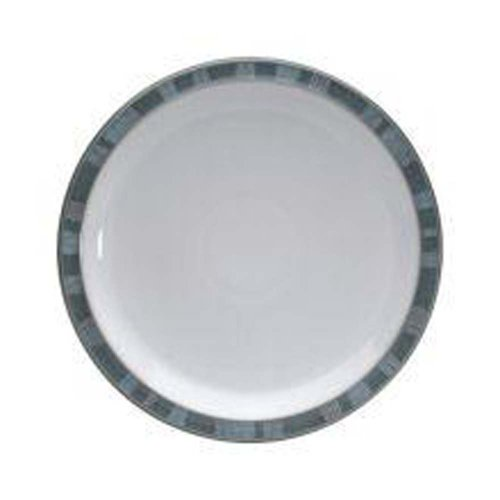 Denby Azure Coast Dinner Plates, Set Of 4