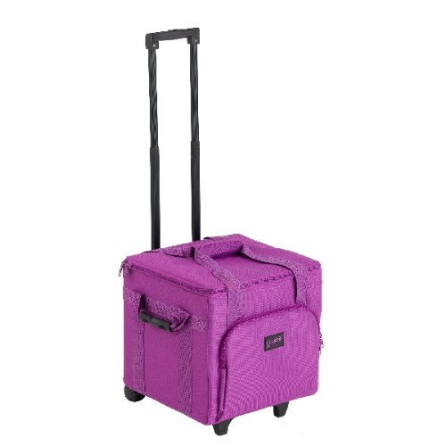 Creative Notions Xl Serger Trolley In Purple front-640136