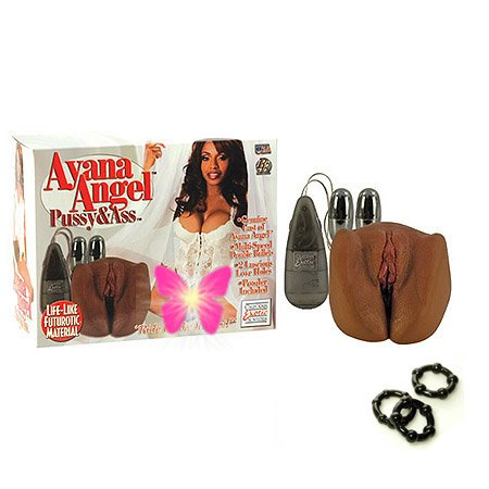 California Exotics / Swedish Erotica Ayana Angel Anus & Vagina Masturbator Adult Sex Toy Kit