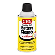 CRC 05023 Technician Grade Battery Cleaner with Indicator - 11 Wt Oz.