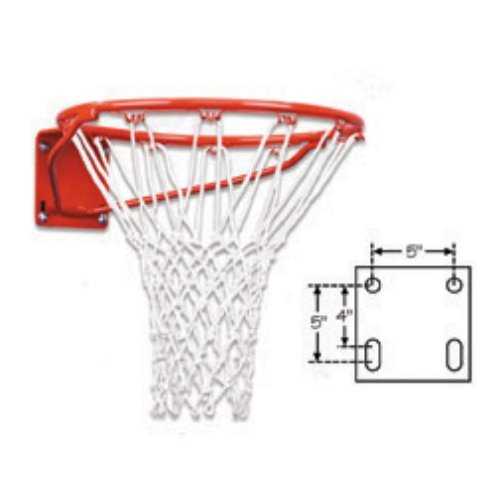 First Team Heavy Duty Front Mount Fixed Basketball