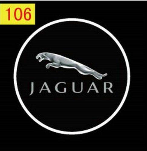 2 X 5Th Gen Led Car Door Ghost Shadow Laser Projector Logo Light For Jaguar Xk Xj F-Type Xf..