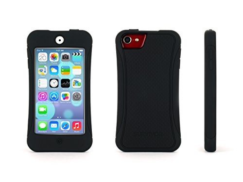 Griffin Black Survivor Slim Protective Case for iPod touch (5th/...
