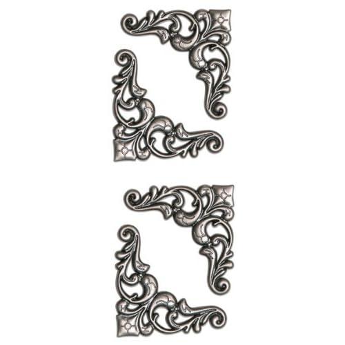 Amazon.com: Momenta Metal Large Photo Corner, Antique Silver