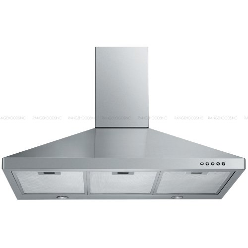 Euro Kitchen Brushed Stainless Steel 198F-30 Wall Mounted Range hood