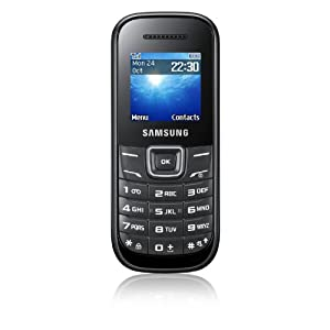 Vodafone E1200 Pay As You Go Samsung Handset - Black