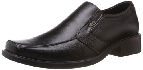 Lee Cooper Men's Black Leather Formal Shoes - 7 UK