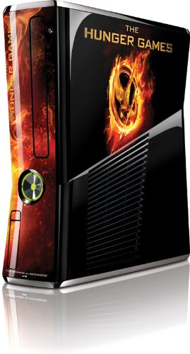 Skinit The Hunger Games Logo Vinyl Skin for Microsoft Xbox 360 Slim (2010)