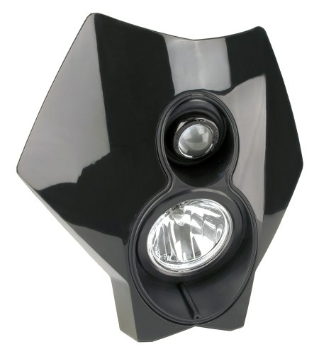 Trail Tech (36T2A-70) X2 Torch Black 70W Universal Motorcycle Off-Road Halogen Headlight (Ktm 300 Headlight Switch compare prices)