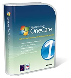 "Windows Live OneCare 2.0 (Up to 3 Users) (CD-ROM) By Microsoft Software          17 used and new from $6.17     Customer Rating:       First tagged ""internet security software"" by Kenneth D. Ghim"