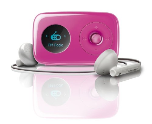 Creative Zen Stone Plus 2GB MP3 Player - Pink