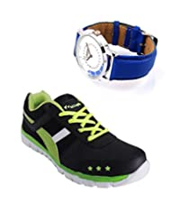 Elligator Sports Shoes With Lotto Blue Watch - B00WSAAVZY