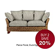 Antigua Large 2 Seater Sofa