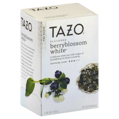 Tazo Tea White Berry Blossom Tea 20 Bag - (Pack Of 6)