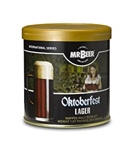 Mr. Beer Oktoberfest Lager Home Brewing Beer Refill Kit