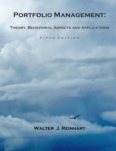 Portfolio Management: Theory, Behavioral Aspects and...