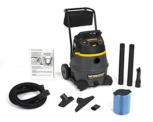 WORKSHOP Wet Dry Vac WS1400CA High Power Wet Dry Vacuum Cleaner, 14-Gallon Shop Vacuum Cleaner, 6.0 Peak HP Wet And Dry Vacuum (Vacume Line compare prices)