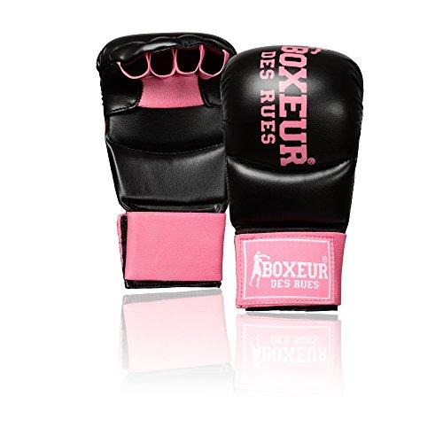 Boxeur Des Rues Fight Activewear Guanti da Fit-boxe e Karate, Fucsia, S