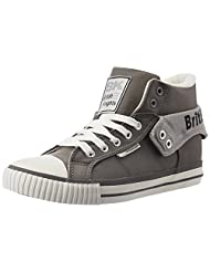 British Knights Women's Roco Light Grey And Black Sneakers