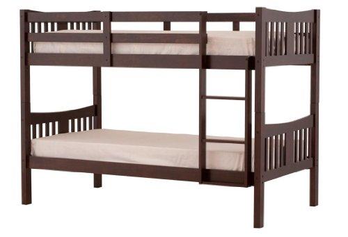 Stork craft caribou bunk bed espresso my home for Stork craft caribou bunk bed