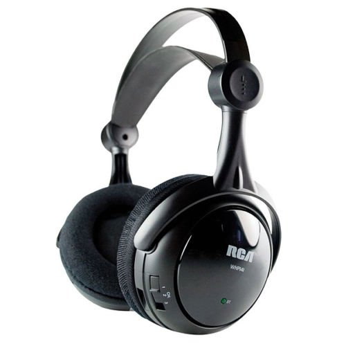 Rca Whp141 Over The Head Wireless Headphones