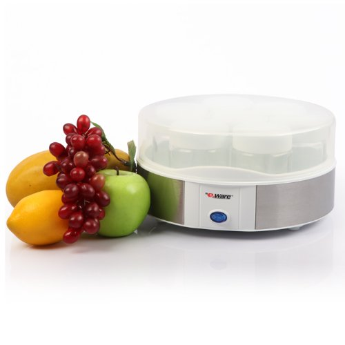 Deals e ware ew 5k102b electric yogurt maker this review for Automatic yogurt maker by euro cuisine