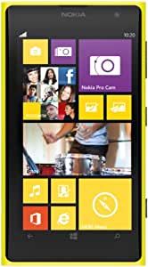 Nokia Lumia 1020 RM-875 32GB GSM Unlocked Windows Smartphone - Yellow - International Version No Warranty