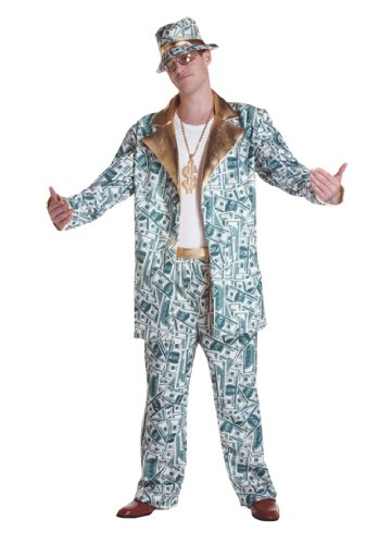 Money Man Lg-Xl Adult Halloween Costume